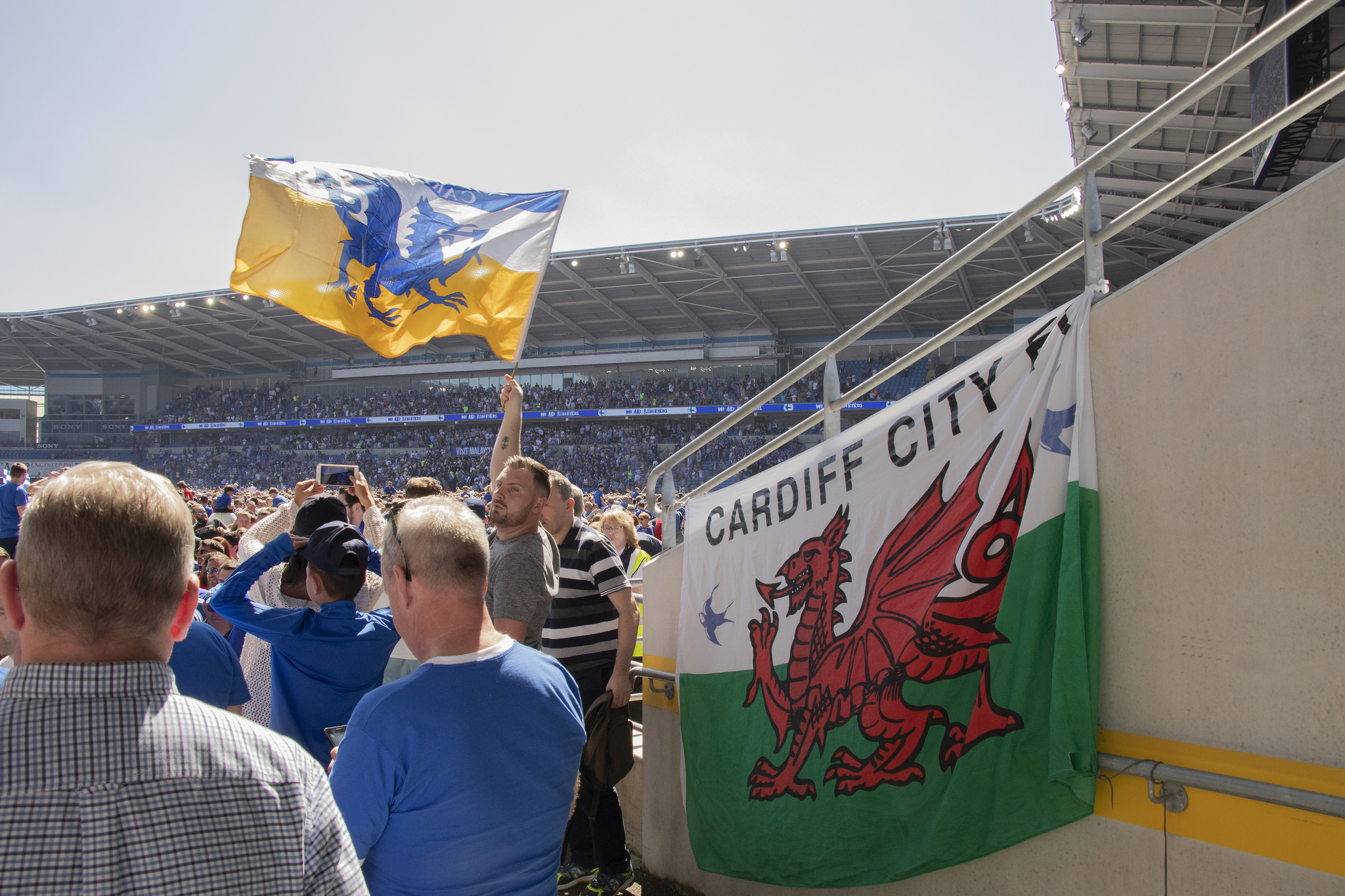 Cardiff City fans (Jeremy Segrott/Flickr)