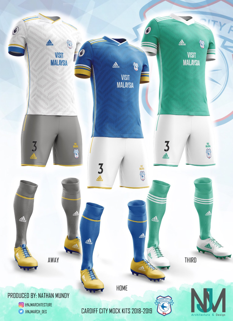 Kit Week 2018 Best Cardiff City Fans Concept Kits View From The