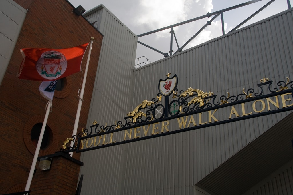 Anfield's Shankly Gates