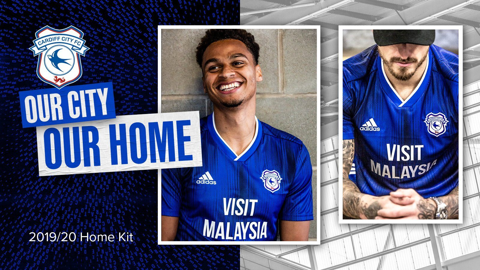 Vftn Verdict Cardiff City S 2019 20 Home Kit View From The Ninian